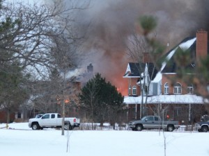 Christmas Eve fire on Niagara Boulevard in Fort Erie