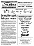 The Ridgeway Herald Front Page Dec. 15, 2010