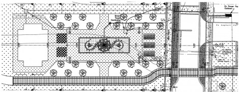 Village square site drawing