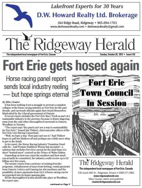 Download the latest edition of The Ridgeway Herald. Click here.